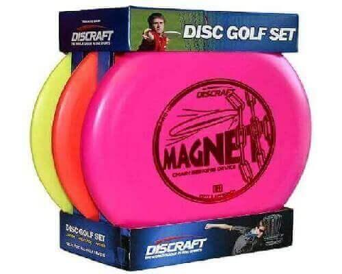 Discraft Starter Pack Beginner Disc Golf Set (3-Pack) 1 Driver, 1 Mid-Range