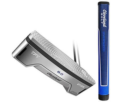 Cleveland Golf 2135 Satin 8.0 Counter Balanced Oversized Grip Putter