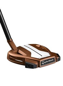 TaylorMade Golf Spider X Putter Copper White